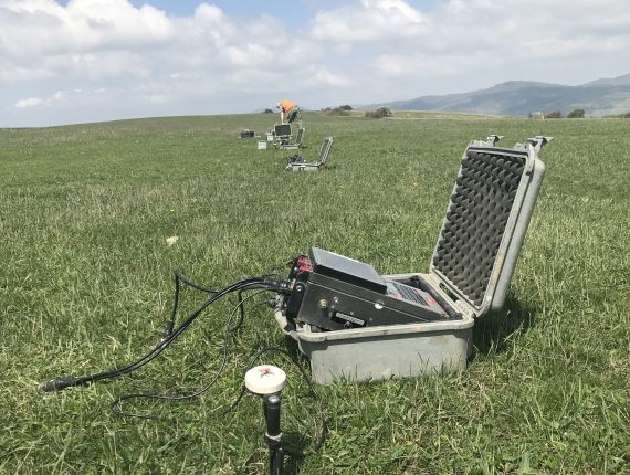 magnetotellurics calibration spot