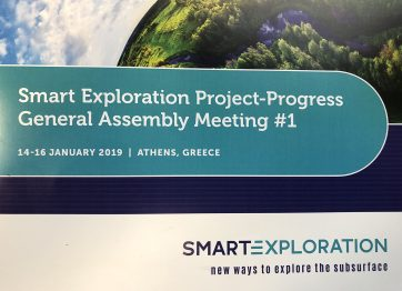 Spotkanie Smart Exploration w Atenach