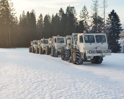 seismic surveys, seismic truck, vibroseis, badania geofizyczne, poszukiwania wód, badania geotermalne, polska geotermia, gmina szaflary
